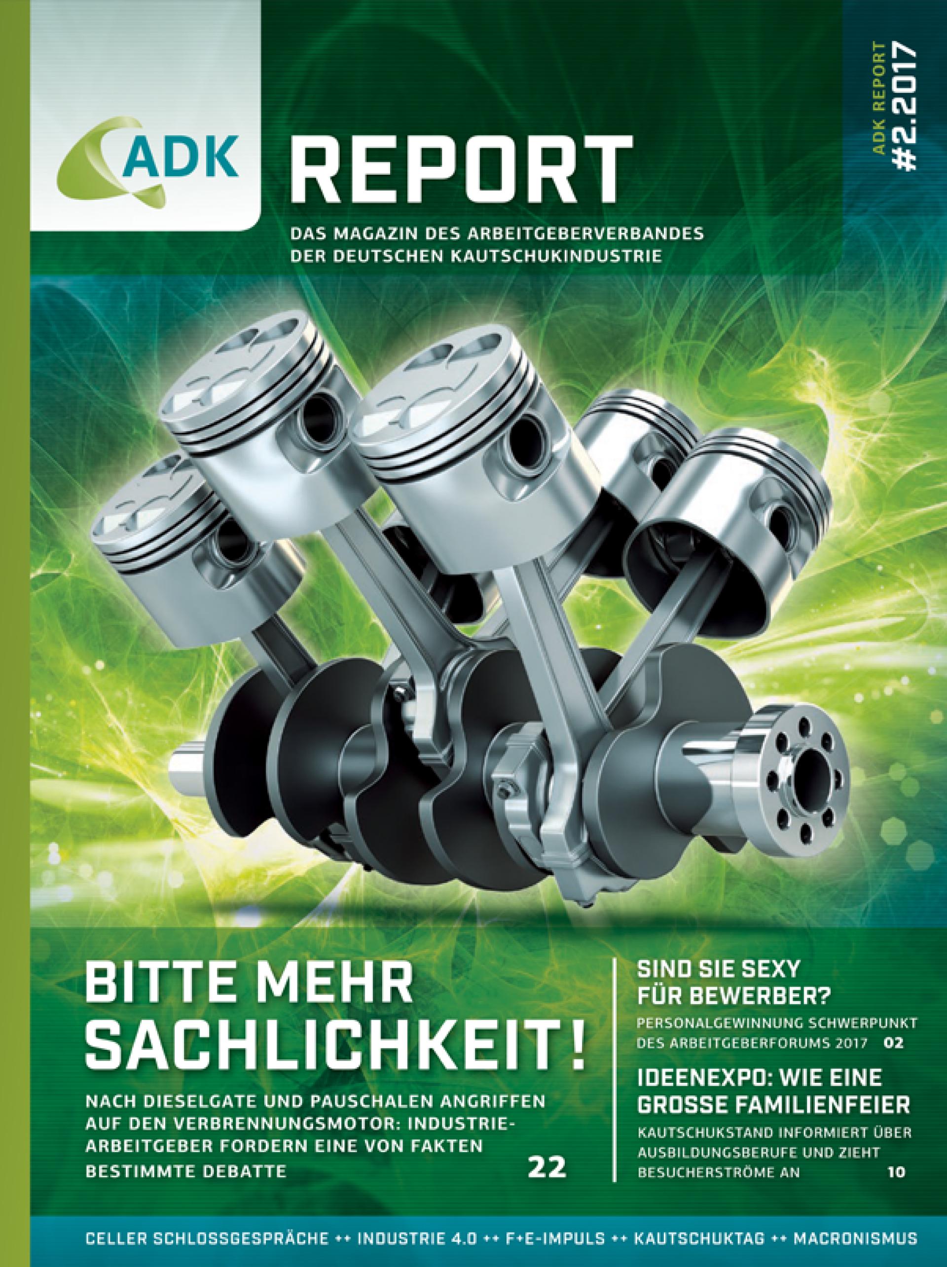 ADK Report 02/17 Titelseite